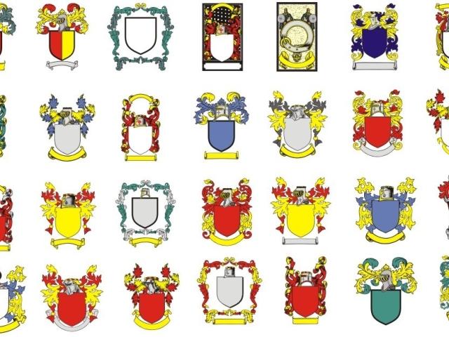 Герб семьи своими руками. Как создать герб семьи?