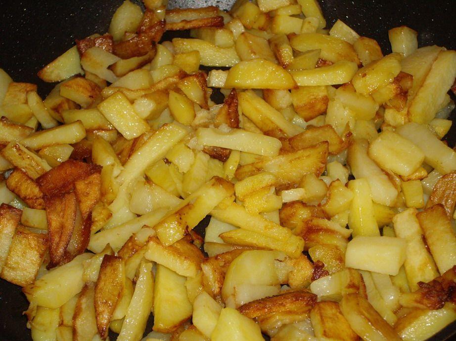 Вкусная картошка на сковороде рецепты с фото