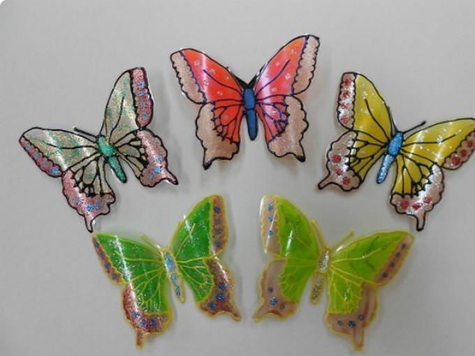Поделки бабочек своими руками для дачи