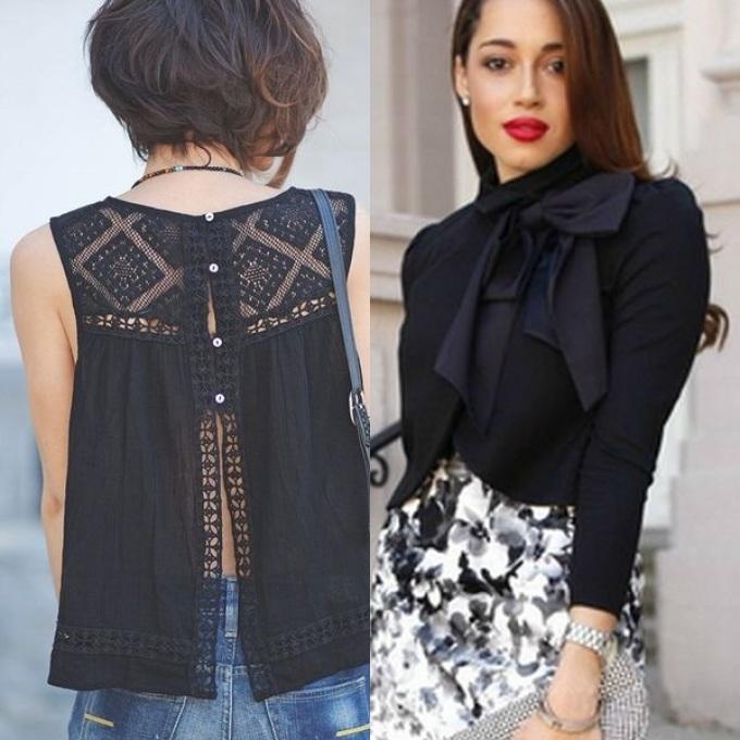 Модные Блузки Из Шифона 2017 Года