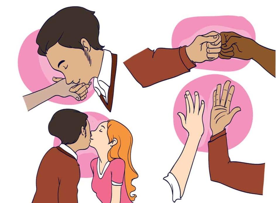 Как поприветствовать близкого человека?
