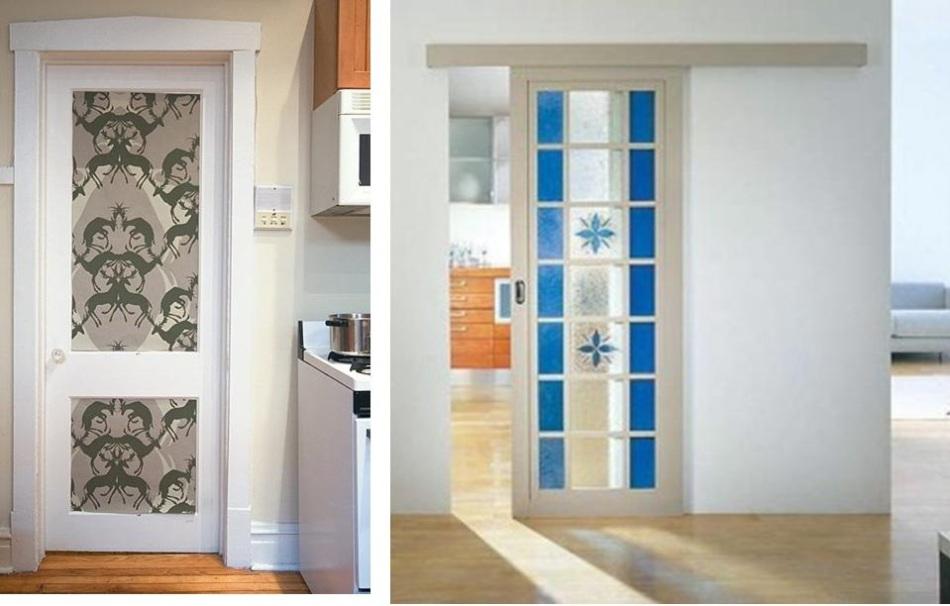 Как обновить дверь своими руками 60