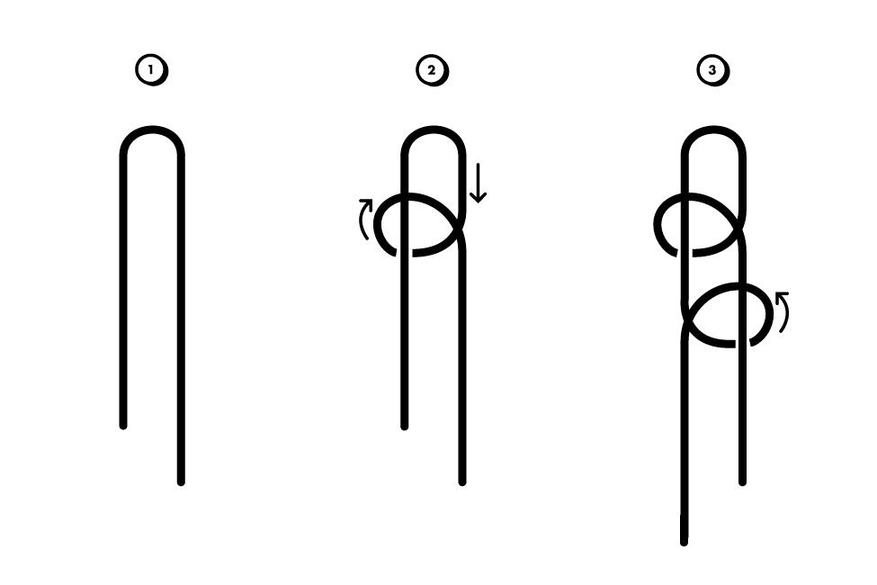 Плетение чекера схема