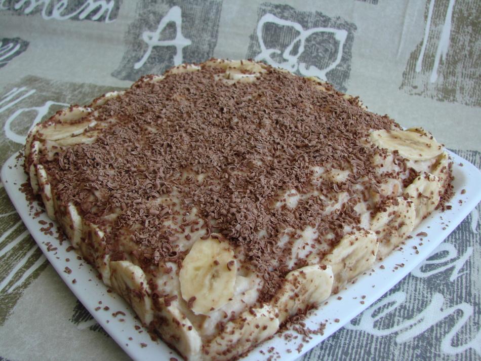 Творожный торт без выпечки.