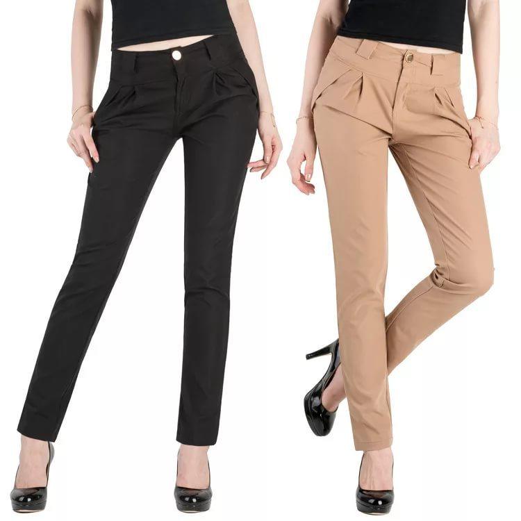 Модные школьные брюки для девушек