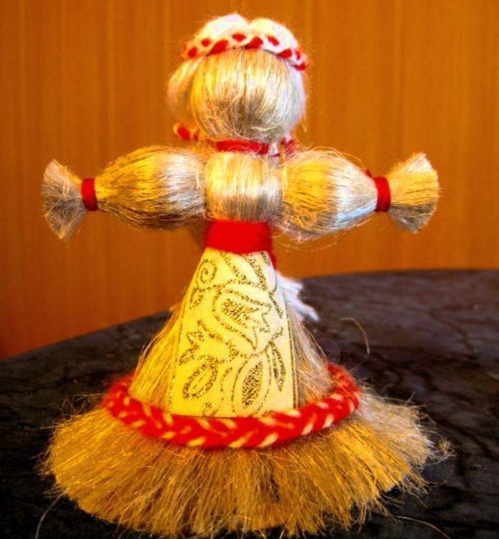 Кукла мотанка из ниток своими руками 11