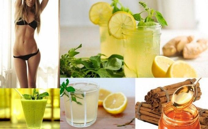 Как сделать напитки от похудения 445