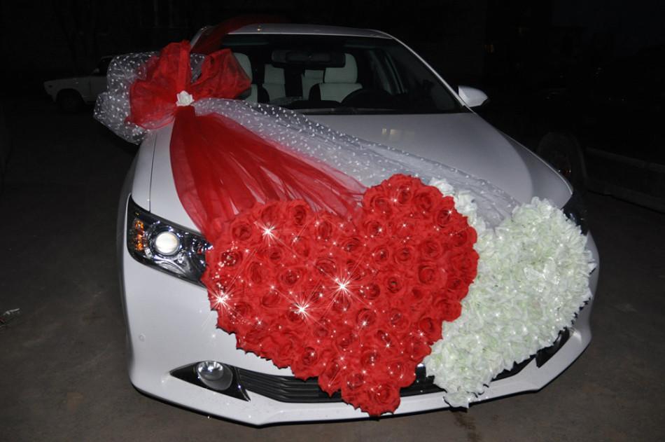 Как сделать сердца на свадебную машину своими руками?
