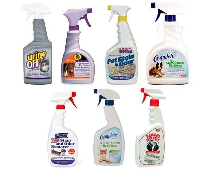 Лучшие препараты, что хорошо убирают запах мочи