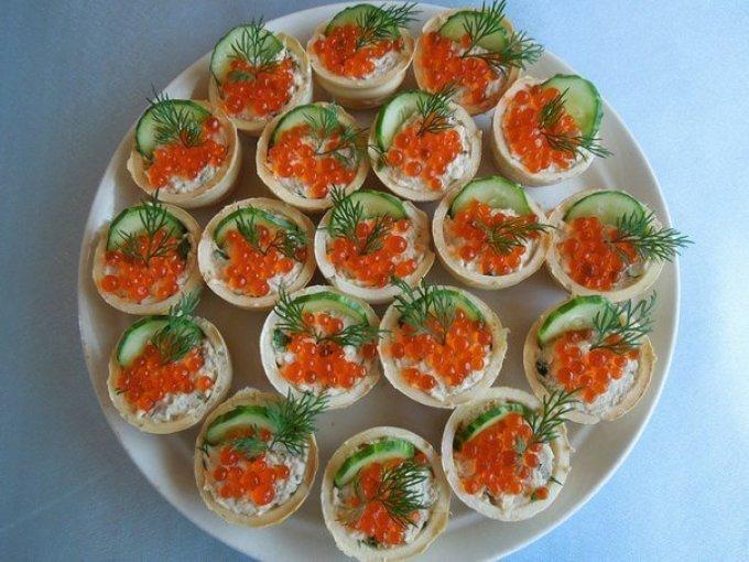 Рецепты фаршированных тарталеток