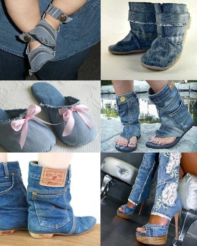 Идеи для джинс своими руками 95