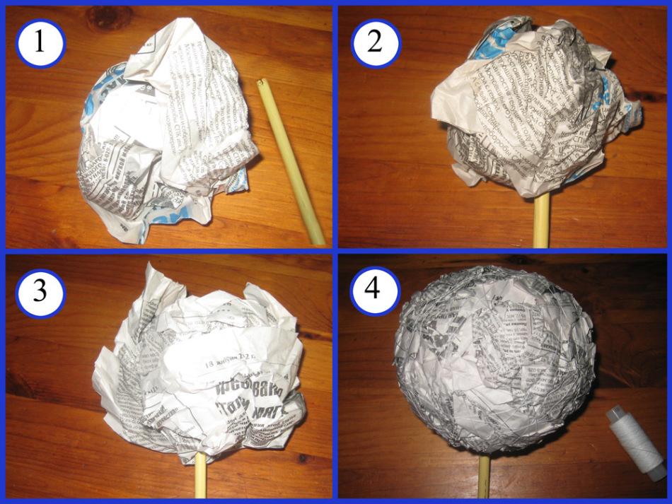 Как самостоятельно сделать шар 806