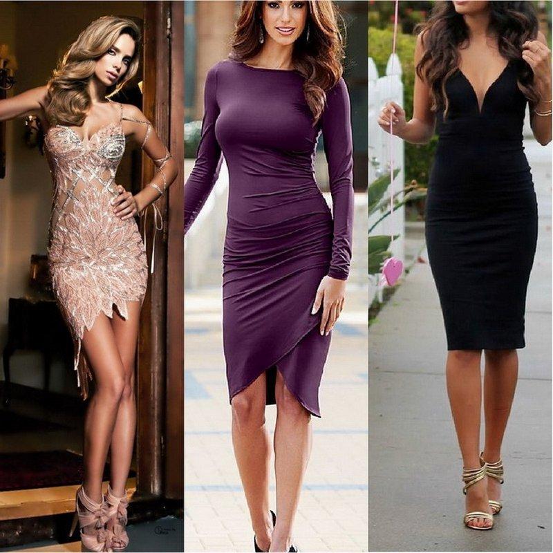 Кому идет платье в обтяжку