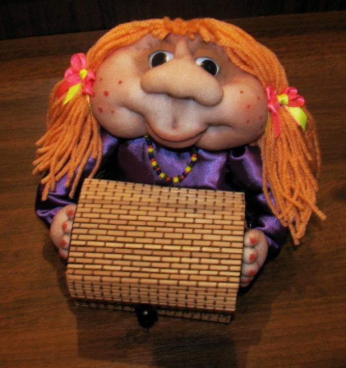 Кукла из капрона своими руками 54