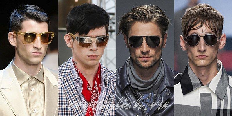 Мужские солнцезащитные очки: мода 2018