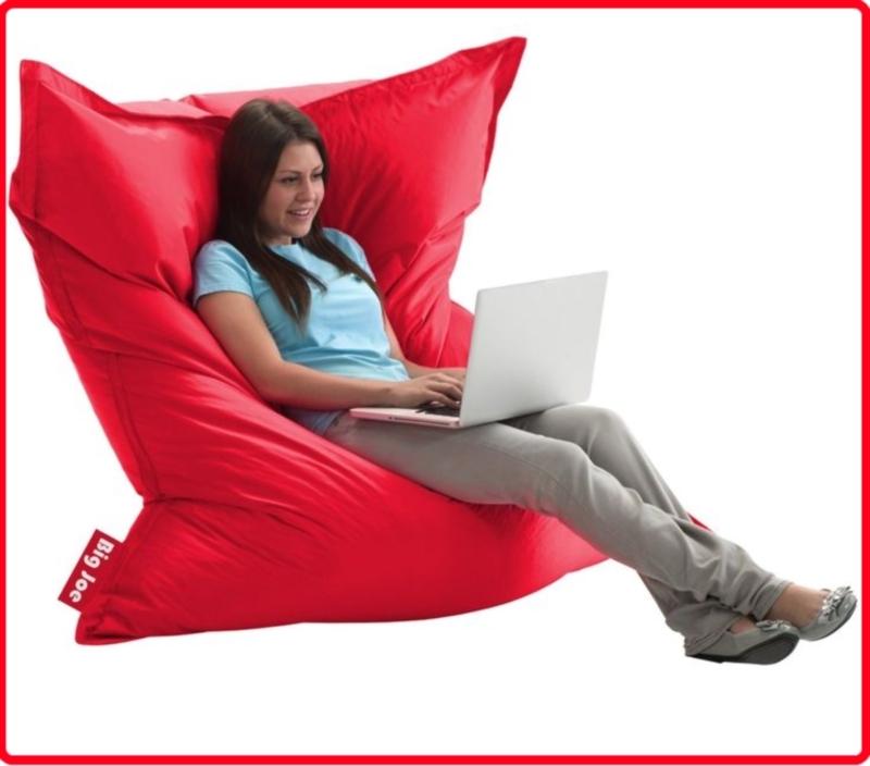 Кресло-мешок в форме обычной подушки своими руками