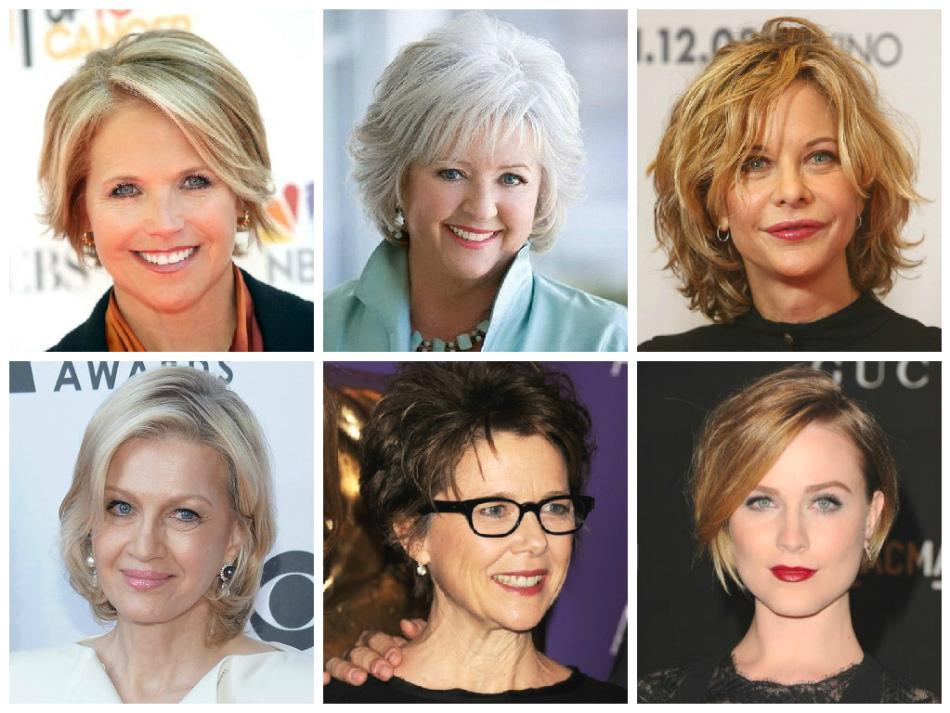 Какие причёски идут круглолицым женщинам