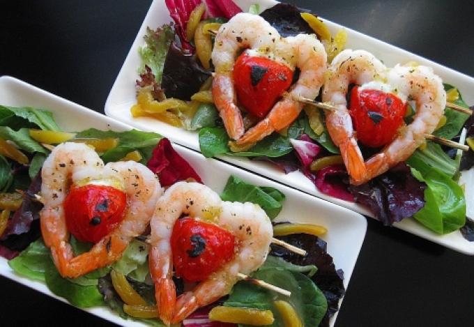 Салат на праздничный ужин