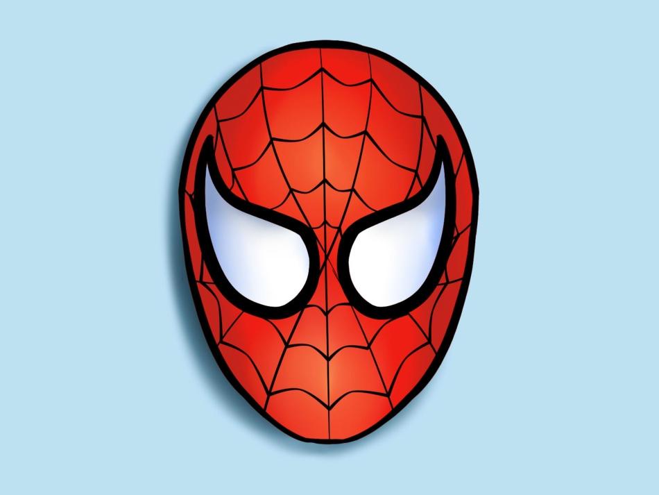 Маска Человека паука своими руками: из ткани, из бумаги 4