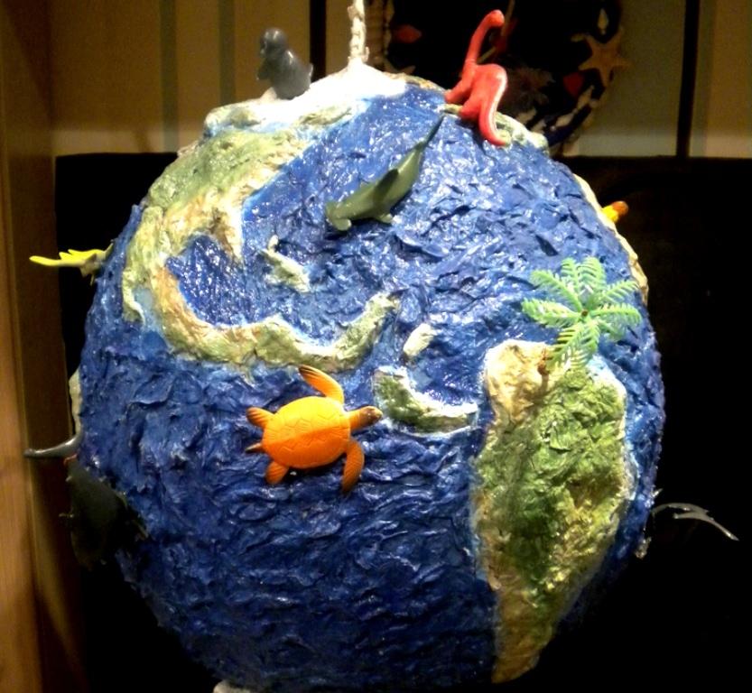 Поделки ко дню Земли 45