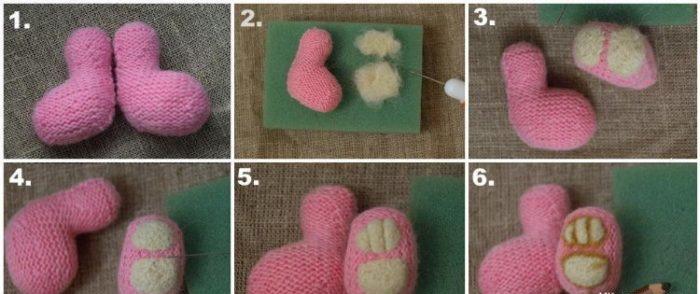 Как вязать мишку