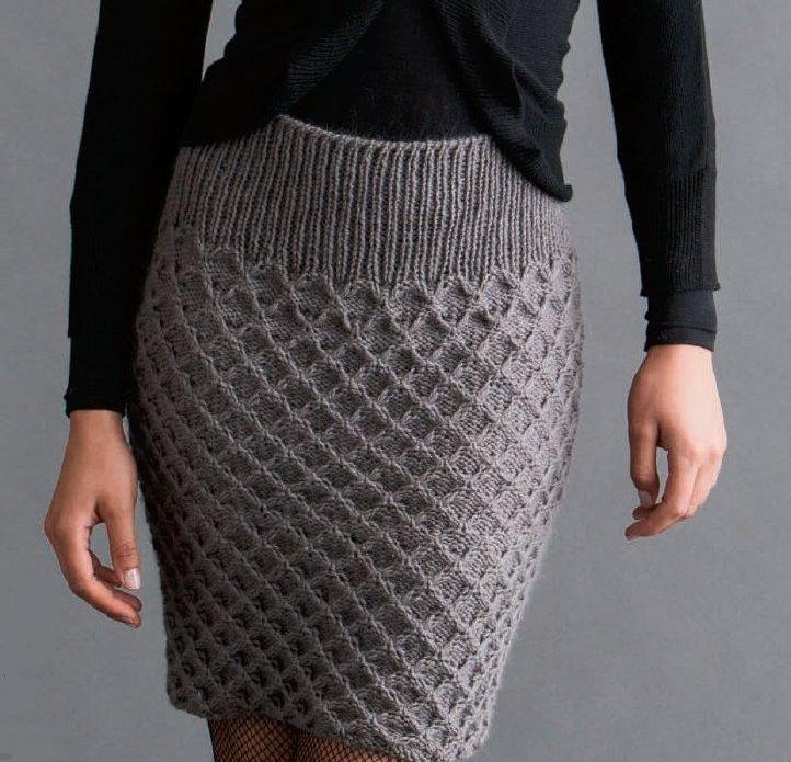 Узор ёлочка для юбки
