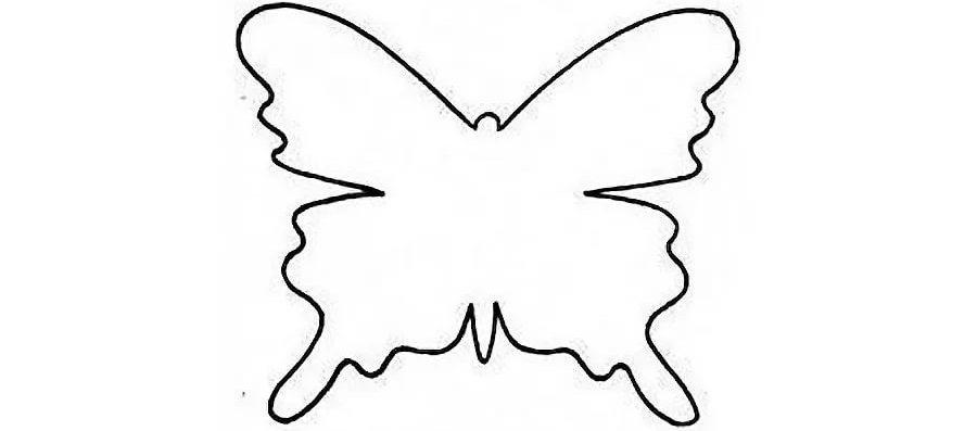 Шаблоны бабочками как сделать 25