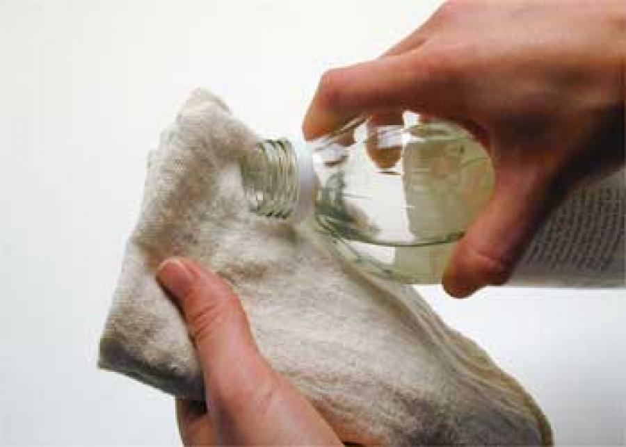 изменил как убрать разводы с ткани с помощью уксуса еще знаем