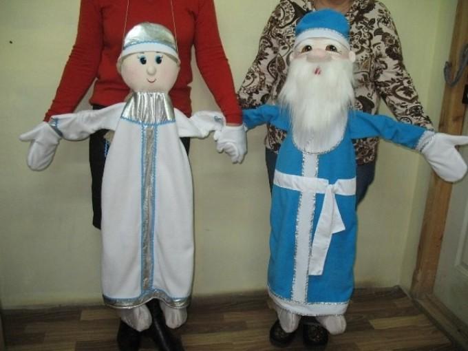Куклы ростовые для театра своими руками