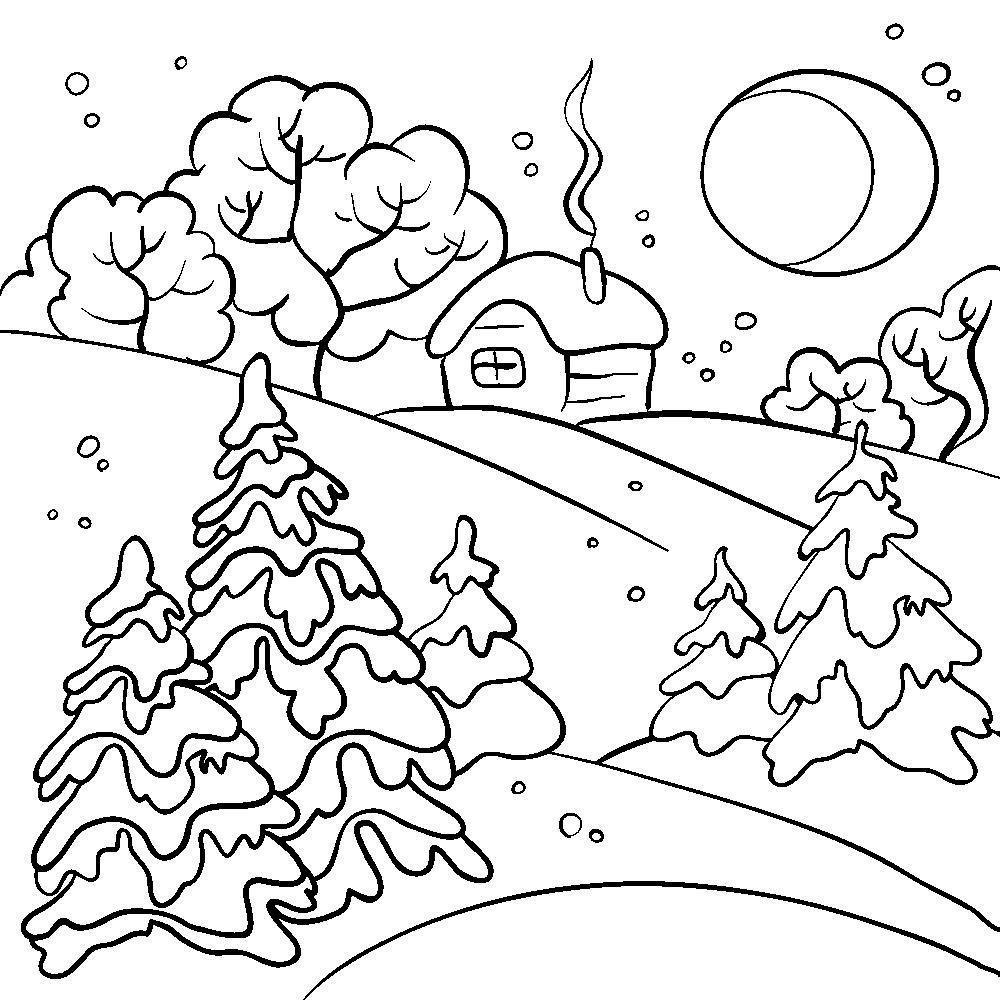Обои зимний пейзаж на рабочий стол