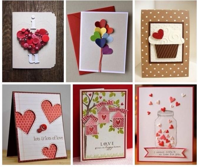 Валентинка-открытка своими руками