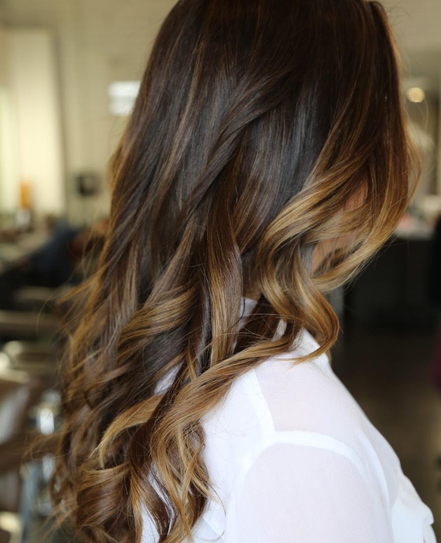 Прически эффект выгоревших волос