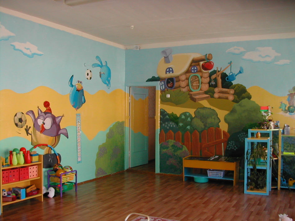 Оформление детских садов с фото своими руками 769