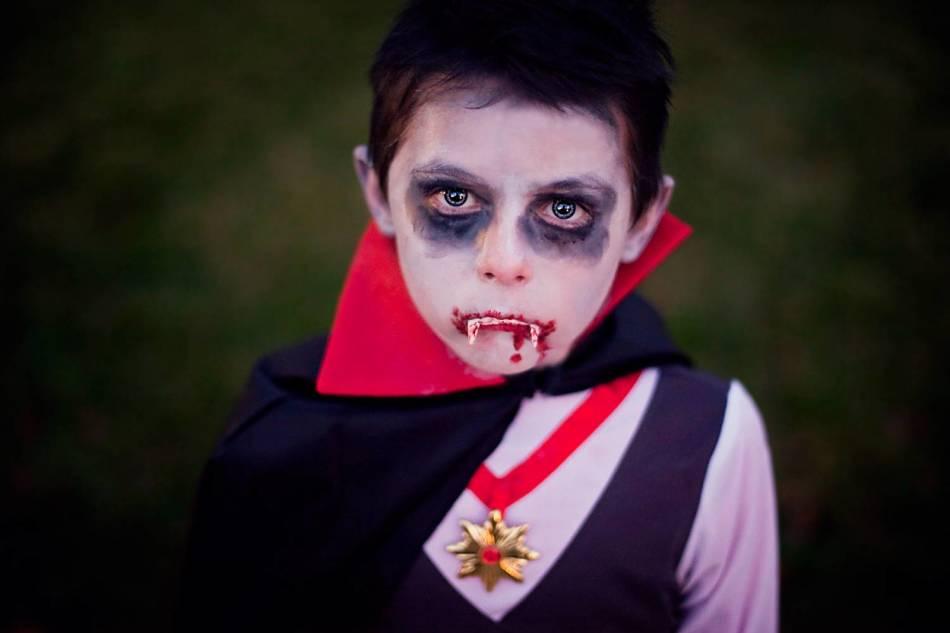 Вампир на хэллоуин в домашних условиях
