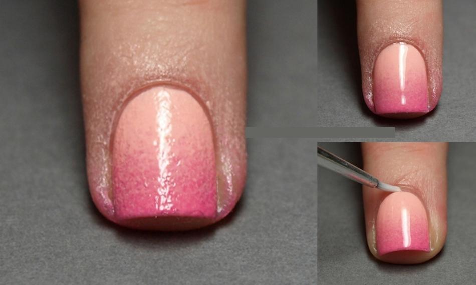 Ногти в домашних условиях обычным лаком 522