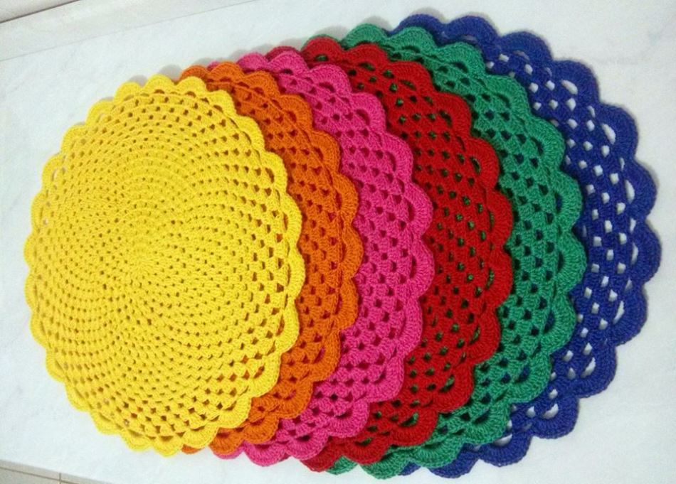 Салфетки крючком простые и красивые: фото