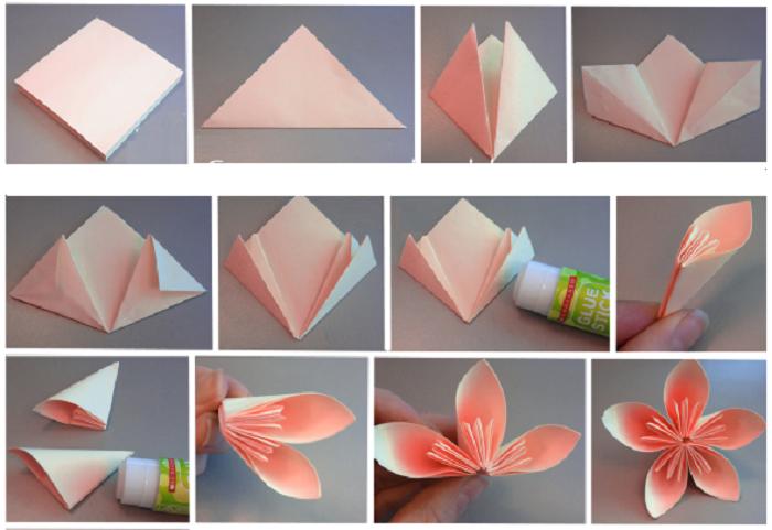 Как сделать цветок из салфетки поэтапно 14