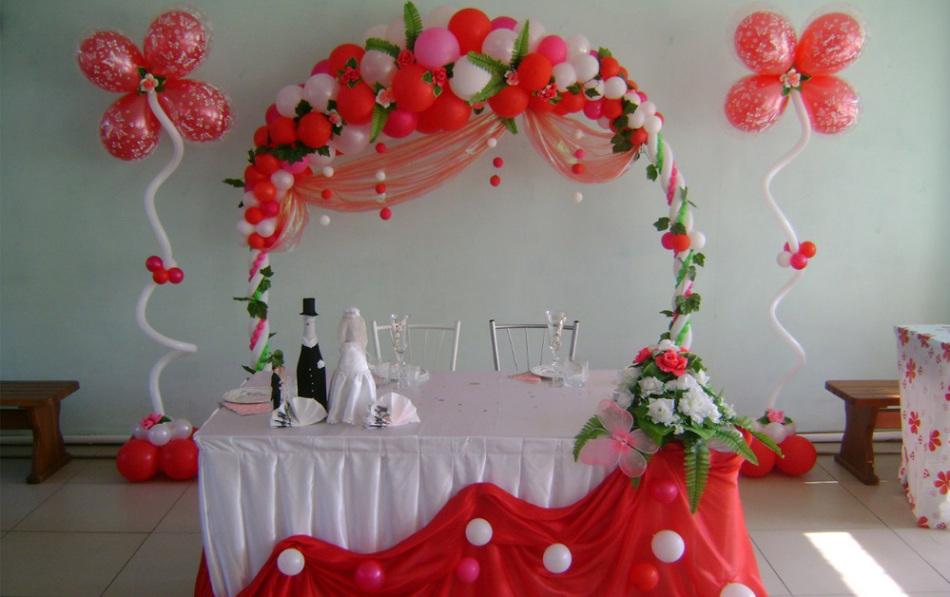 Свадьба оформление зала своими руками и идеи