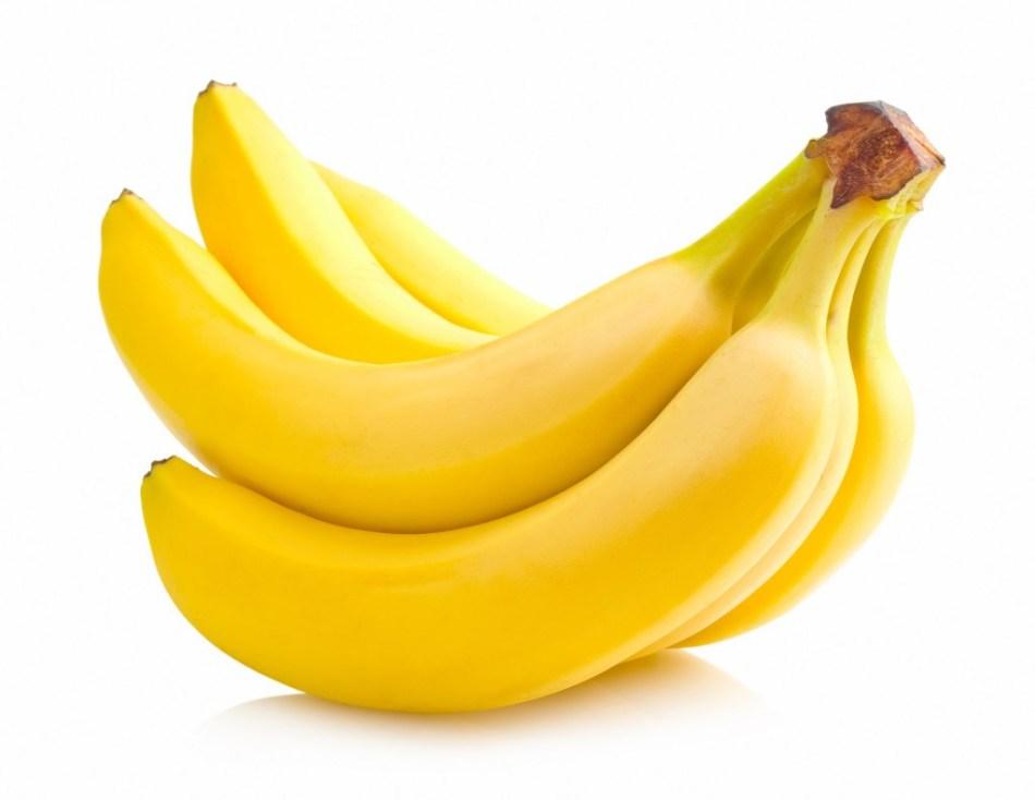 Банан с медом останавливают выпадение волос