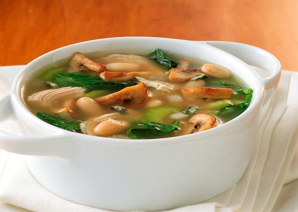 Суп грибной из свежих шампиньонов рецепт с пошагово