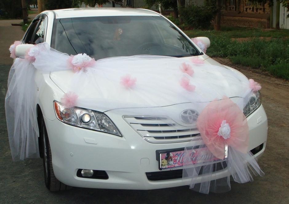Украшение машины на свадьбу своими руками пошагово