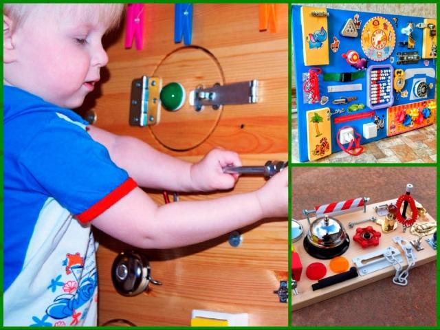 Бизиборд своими руками для мальчика фото пошаговая инструкция по применению