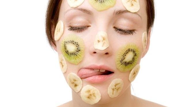 маски с бананом и киви