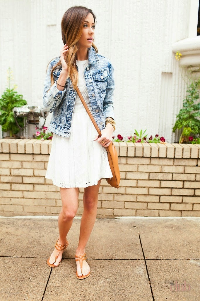 Образы в летних платьях