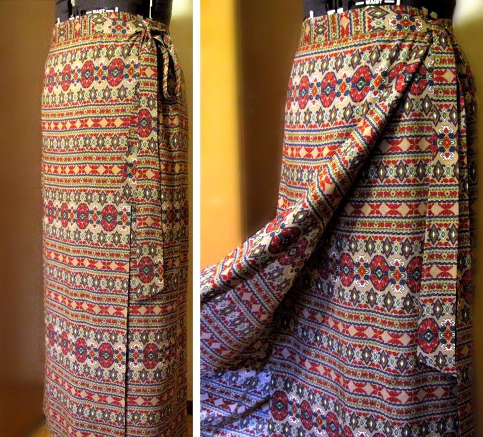 Как сшить юбку для похода в церковь