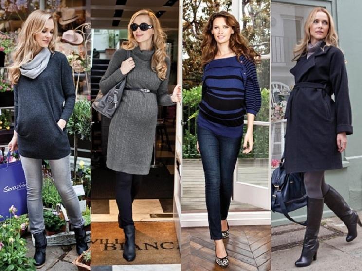 Как красиво одеться беременной осенью 84
