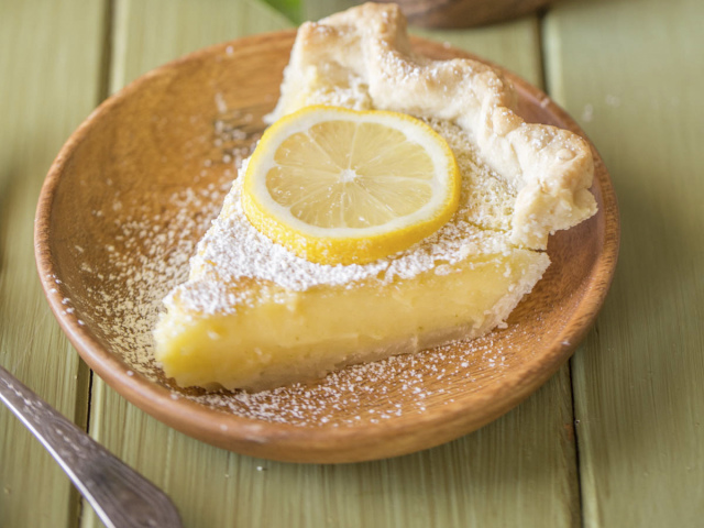Татарский пирог с лимоном