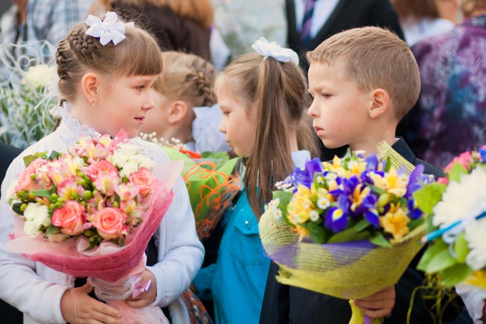 Поздравление для девочки-первоклашки