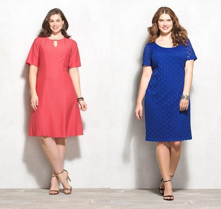 Шьём сами платье для полных женщин