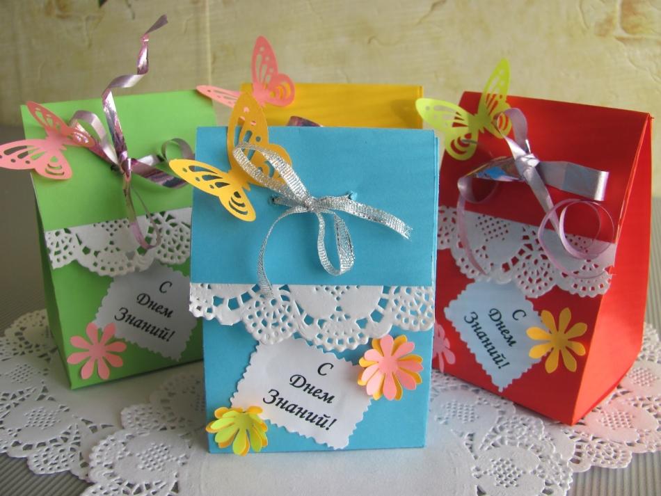 Какой можно сделать подарок для учителя